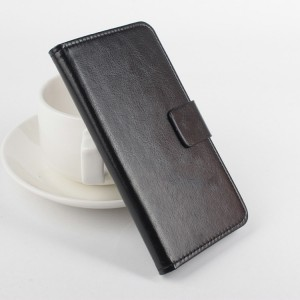 Чехол портмоне подставка на клеевой основе с магнитной застежкой для Highscreen Spider