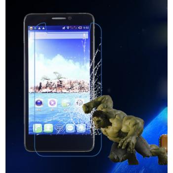 Ультратонкое износоустойчивое сколостойкое олеофобное защитное стекло-пленка для Alcatel One Touch Idol