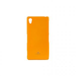 Силиконовый матовый непрозрачный чехол для Sony Xperia Z2 Желтый