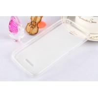Силиконовый чехол для HTC Desire 616 Белый