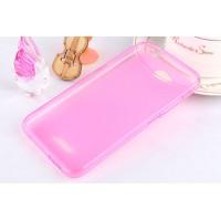 Силиконовый чехол для HTC Desire 616 Розовый