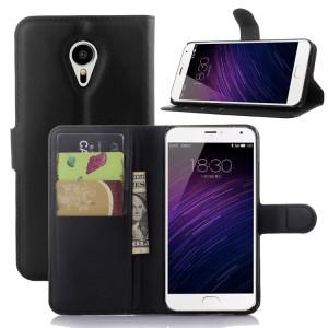 Чехол портмоне подставка с магнитной застежкой для Meizu MX5