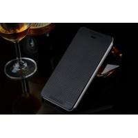 Точечный чехол смарт флип с функциями оповещения для HTC Desire 626/628 Черный