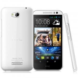 Пластиковый транспарентный чехол для HTC Desire 616