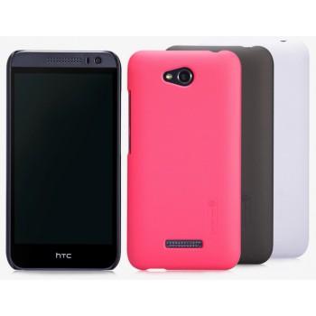 Пластиковый премиум матовый чехол для HTC Desire 616