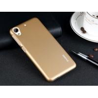 Пластиковый матовый металлик чехол для HTC Desire 626/628