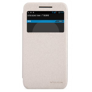 Чехол флип с окном вызова для HTC Desire 616