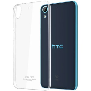 Пластиковый транспарентный чехол для HTC Desire 626/628