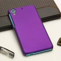 Пластиковый матовый непрозрачный чехол для HTC Desire 626/628 Фиолетовый