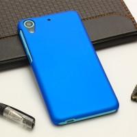 Пластиковый матовый непрозрачный чехол для HTC Desire 626/628 Синий