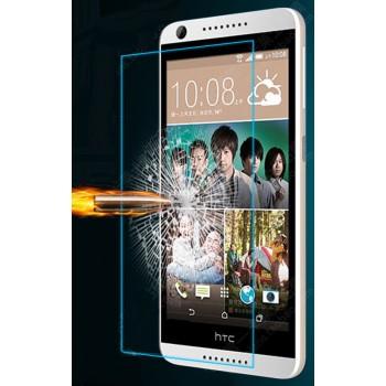 Ультратонкое износоустойчивое сколостойкое олеофобное защитное стекло-пленка для HTC Desire 626