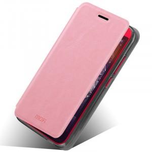 Чехол флип подставка водоотталкивающий для HTC Desire 616 Розовый