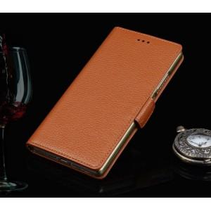 Кожаный чехол портмоне (нат. кожа) для LG G4 S