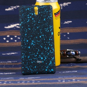 Пластиковый матовый непрозрачный чехол с голографическим принтом Звездная палитра для Sony Xperia C5 Ultra