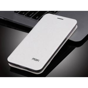 Текстурный узорный чехол флип подставка на силиконовой основе для Meizu MX5 Белый
