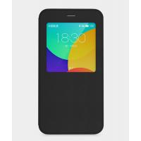 Чехол смарт флип с окном вызова для Meizu MX5 Черный
