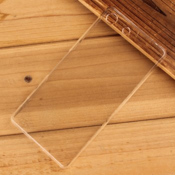 Пластиковый транспарентный чехол для Sony Xperia M5