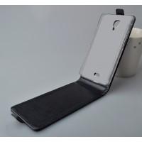 Чехол вертикальная книжка на пластиковой основе с магнитной застежкой для Explay Vega