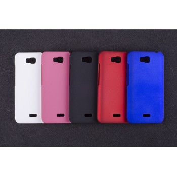Пластиковый матовый непрозрачный чехол для Huawei Y5c