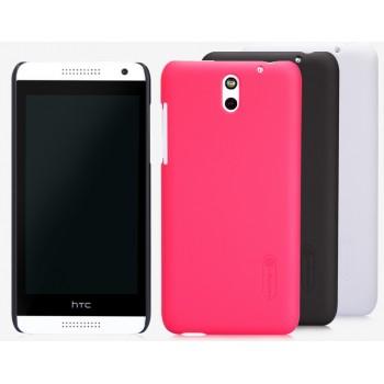 Пластиковый матовый премиум чехол для HTC Desire 610