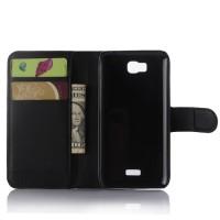 Чехол портмоне подставка с защелкой для Huawei Y5c Черный
