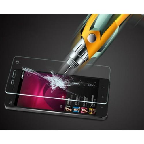 Ультратонкое износоустойчивое сколостойкое олеофобное защитное стекло-пленка для Huawei Y5c