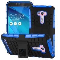Силиконовый чехол экстрим защита для ASUS Zenfone Selfie Синий