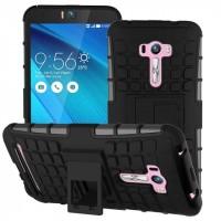 Силиконовый чехол экстрим защита для ASUS Zenfone Selfie Черный