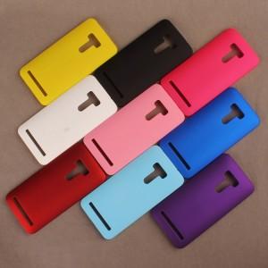 Пластиковый матовый непрозрачный чехол для ASUS Zenfone Selfie