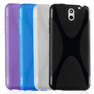 Силиконовый чехол Х для HTC Desire 610