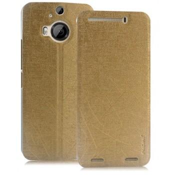 Текстурный чехол флип подставка на присоске для HTC One M9+