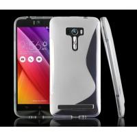 Силиконовый S чехол для ASUS Zenfone Selfie Белый