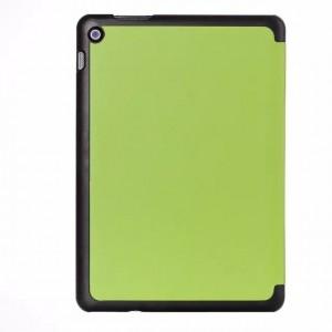Чехол флип подставка сегментарный на поликарбонатной основе для ASUS ZenPad 10 Зеленый