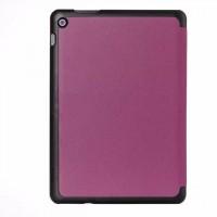 Чехол флип подставка сегментарный на поликарбонатной основе для ASUS ZenPad 10 Фиолетовый