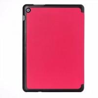 Чехол флип подставка сегментарный на поликарбонатной основе для ASUS ZenPad 10 Розовый
