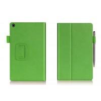 Чехол подставка с внутренними отсеками серия Full Cover для ASUS ZenPad 8 Зеленый