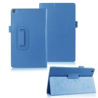 Чехол подставка с рамочной защитой для ASUS ZenPad 8 Голубой