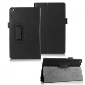 Чехол подставка с рамочной защитой для ASUS ZenPad 8 Черный