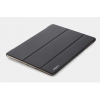 Чехол смарт флип подставка сегментарный на поликарбонатной основе для Samsung Galaxy Tab S 10.5 Черный