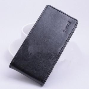 Чехол вертикальная книжка на силиконовой основе с магнитной застежкой для ASUS Zenfone Selfie Черный