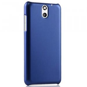Пластиковый чехол серия Metallic для HTC Desire 610 Синий