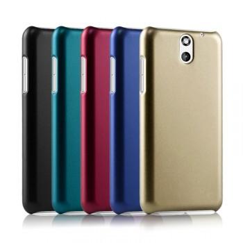 Пластиковый чехол серия Metallic для HTC Desire 610