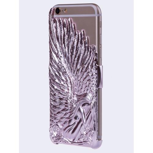 Объемная поликарбонатная накладка Ангел для Iphone 6 Plus