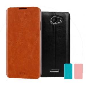 Чехол флип водотталкивающий для HTC Desire 610 Черный