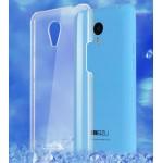 Пластиковый транспарентный чехол для Meizu M1