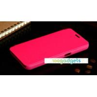 Чехол флип для Samsung Galaxy Core 2 Пурпурный