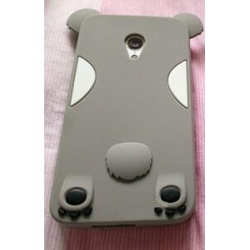 Силиконовый дизайнерский фигурный чехол  для Meizu M1