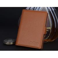 Кожаный чехол портмоне (нат. кожа) для BlackBerry Passport Silver Edition Бежевый
