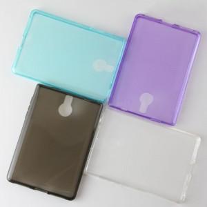Силиконовый матовый полупрозрачный чехол для BlackBerry Passport Silver Edition