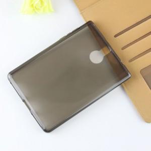 Силиконовый глянцевый полупрозрачный чехол для BlackBerry Passport Silver Edition